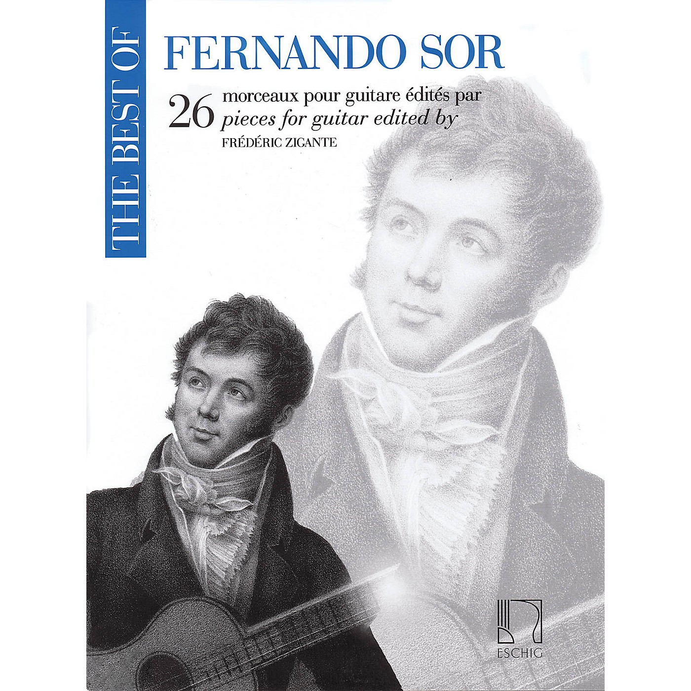 Durand The Best of Fernando Sor (26 Pieces for Guitar) Editions Durand Series Softcover thumbnail