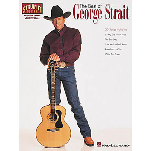 Hal Leonard The Best of George Strait Guitar Chord Songbook thumbnail