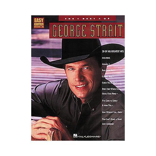 Hal Leonard The Best of George Strait Guitar Tab Book thumbnail
