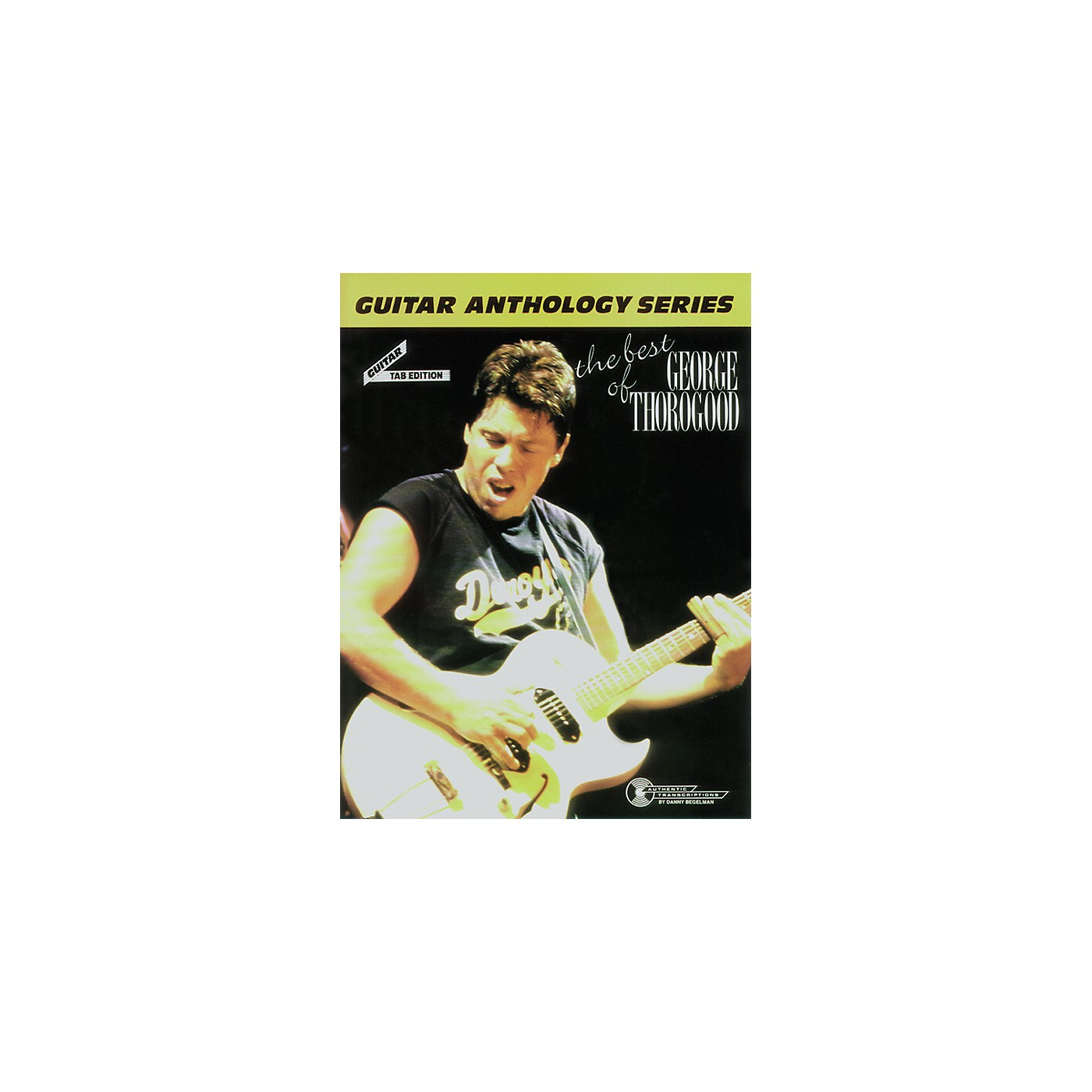 Alfred The Best of George Thorogood Guitar Tab Book thumbnail