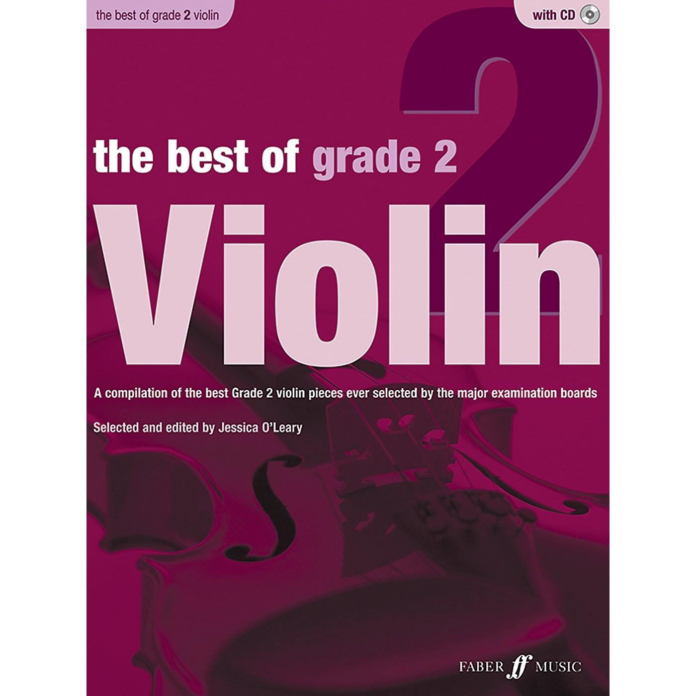 Faber Music LTD The Best of Grade 2 Violin Book & CD thumbnail