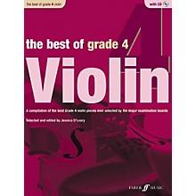 Faber Music LTD The Best of Grade 4 Violin Book & CD