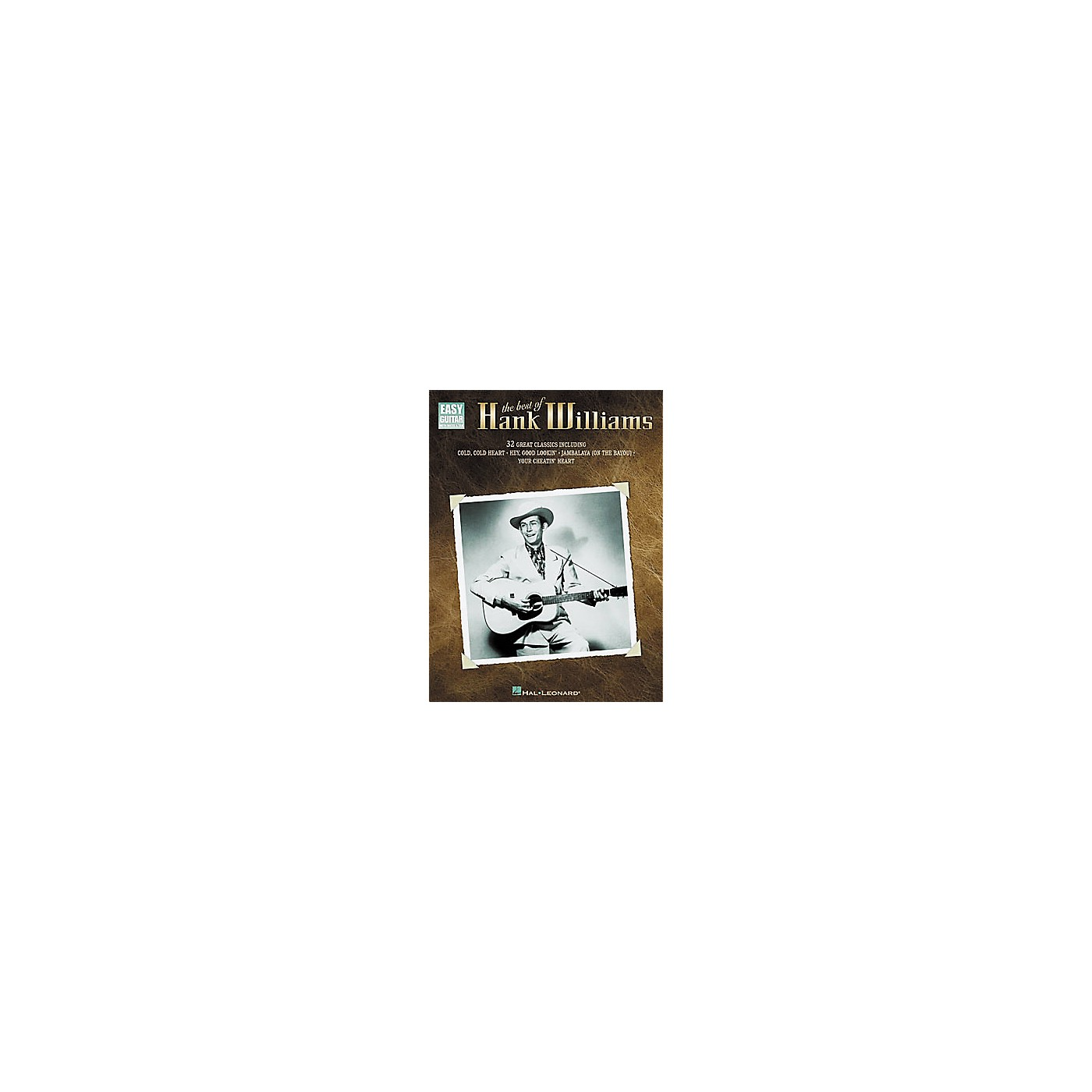 Hal Leonard The Best of Hank Williams Easy Guitar Tab Book thumbnail