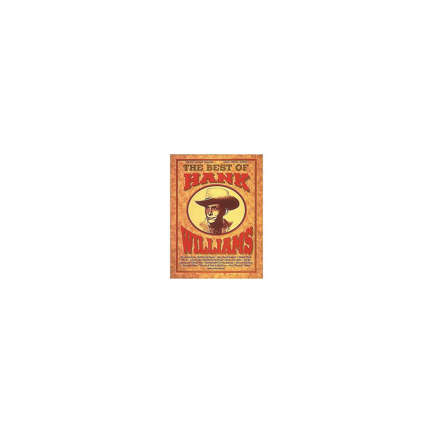 Hal Leonard The Best of Hank Williams thumbnail