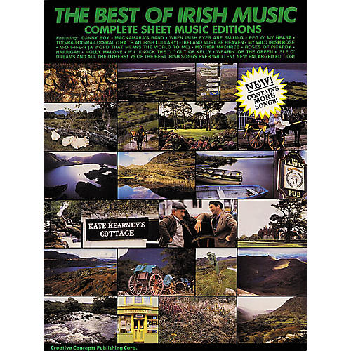 Creative Concepts The Best of Irish Music (Songbook) thumbnail