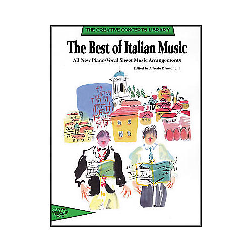 Creative Concepts The Best of Italian Music (Songbook) thumbnail