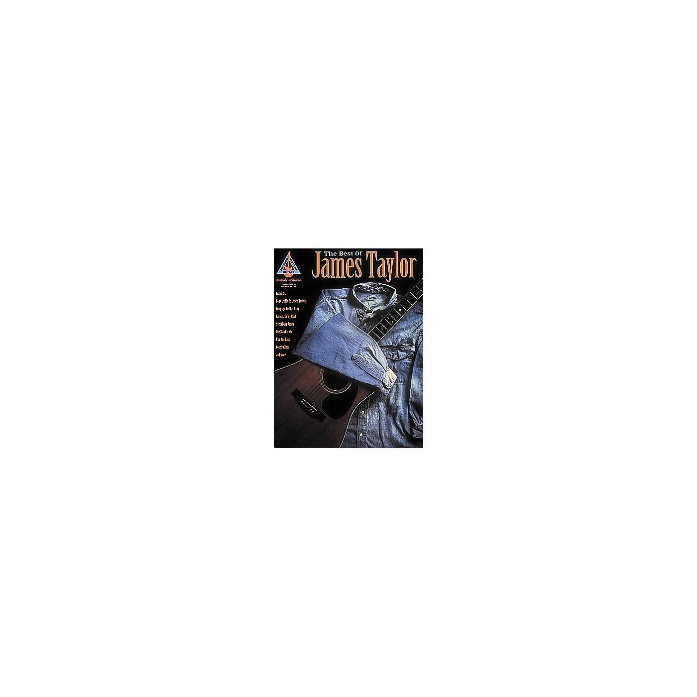 Hal Leonard The Best of James Taylor Guitar Tab Book thumbnail