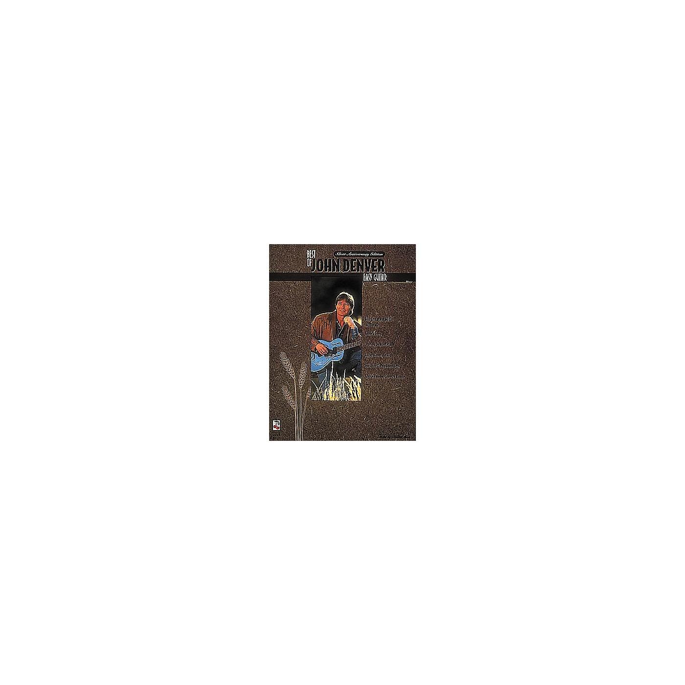Cherry Lane The Best of John Denver Easy Guitar Book thumbnail