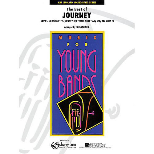 Cherry Lane The Best of Journey - Young Concert Band Series Level 3 arranged by Paul Murtha thumbnail