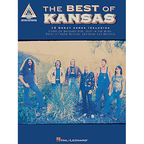 Hal Leonard The Best of Kansas Guitar Tab Songbook thumbnail