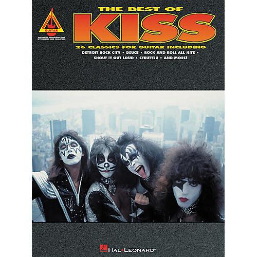 Hal Leonard The Best of Kiss Guitar Tab Songbook thumbnail