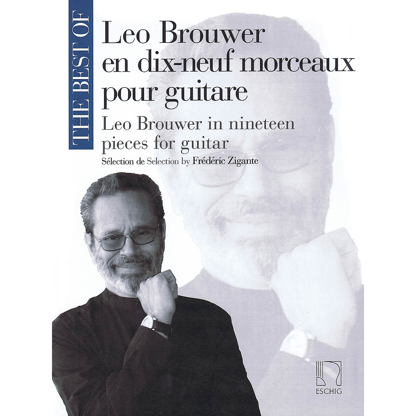 Max Eschig The Best of Leo Brouwer (In 19 Pieces for Guitar) MGB Series Softcover thumbnail
