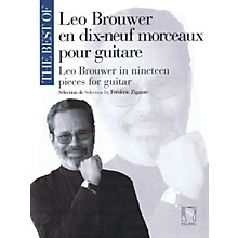 Max Eschig The Best of Leo Brouwer (In 19 Pieces for Guitar) MGB Series Softcover