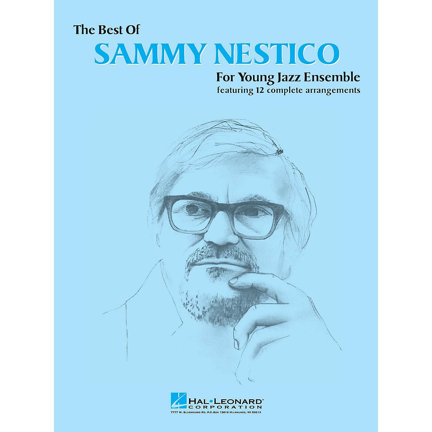 Hal Leonard The Best of Sammy Nestico - Alto Sax 1 Jazz Band Level 2-3 Arranged by Sammy Nestico thumbnail