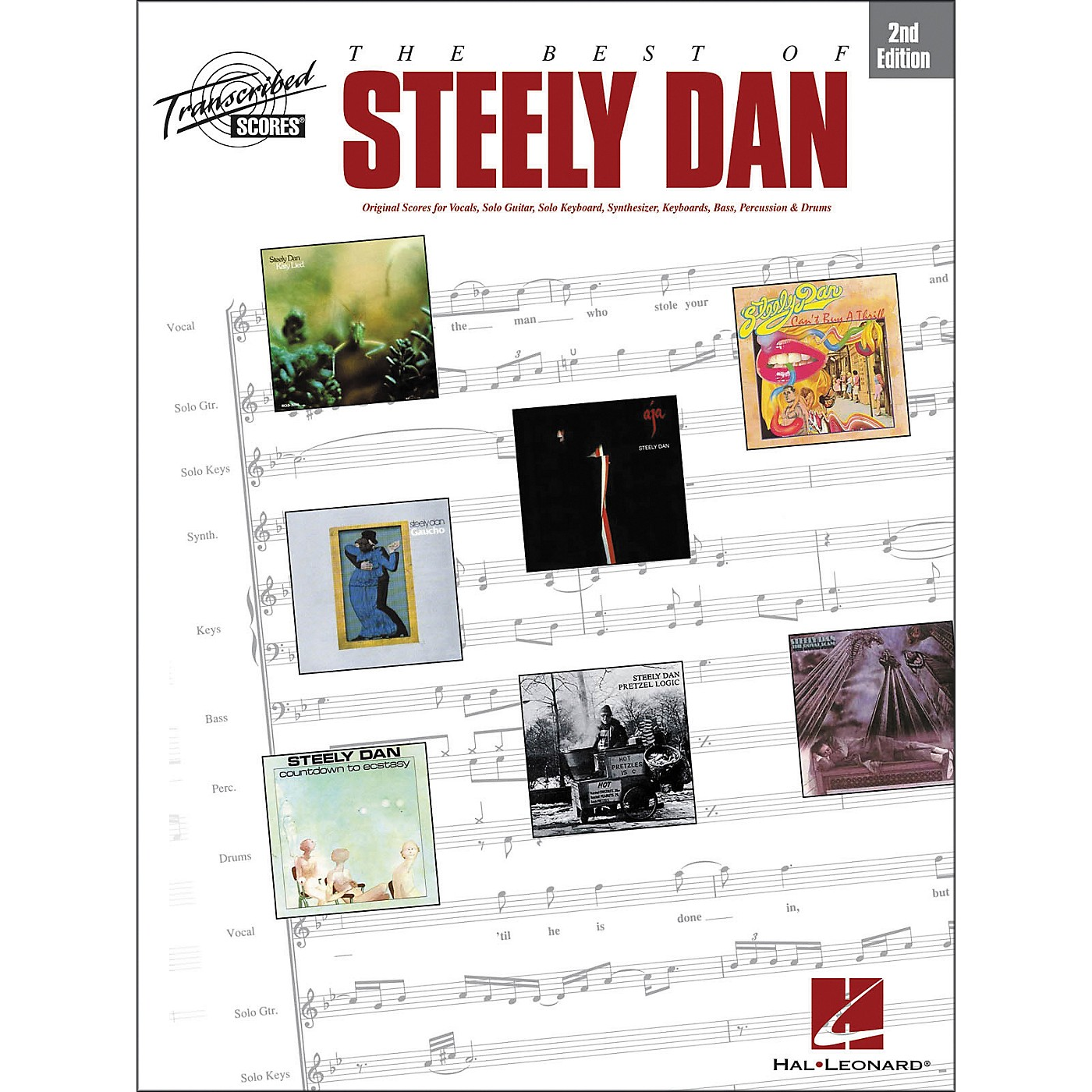 Hal Leonard The Best of Steely Dan - 2nd Edition, Transcribed Score Series Songbook thumbnail