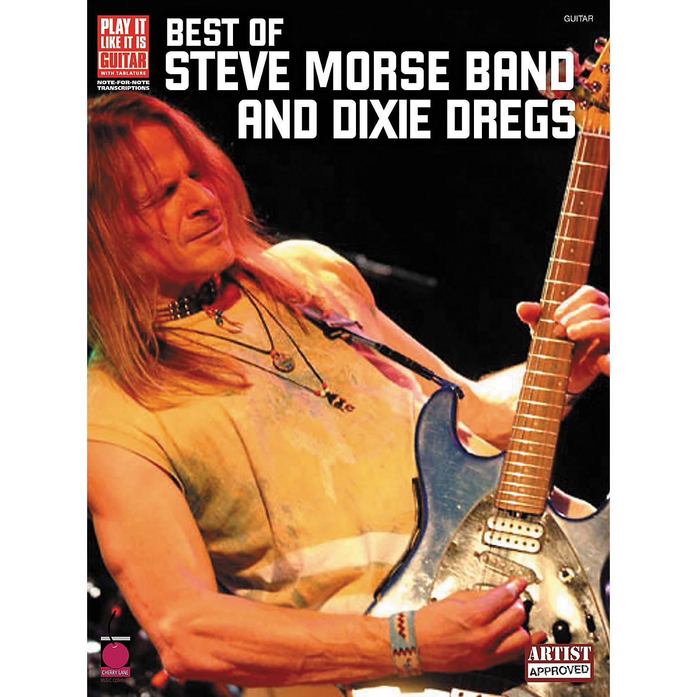 Cherry Lane The Best of Steve Morse Band & Dixie Dregs Guitar Tab Songbook thumbnail