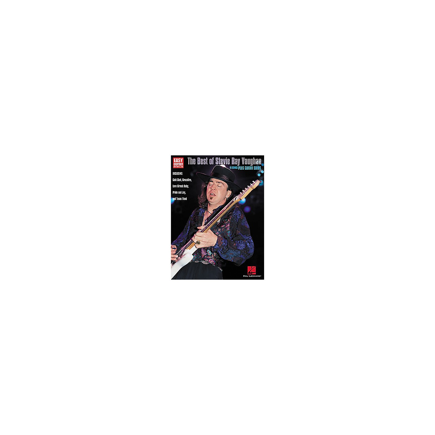 Hal Leonard The Best of Stevie Ray Vaughan Guitar Tab Book thumbnail
