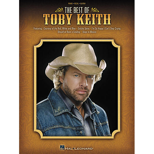 Hal Leonard The Best of Toby Keith Piano, Vocal, Guitar Songbook thumbnail