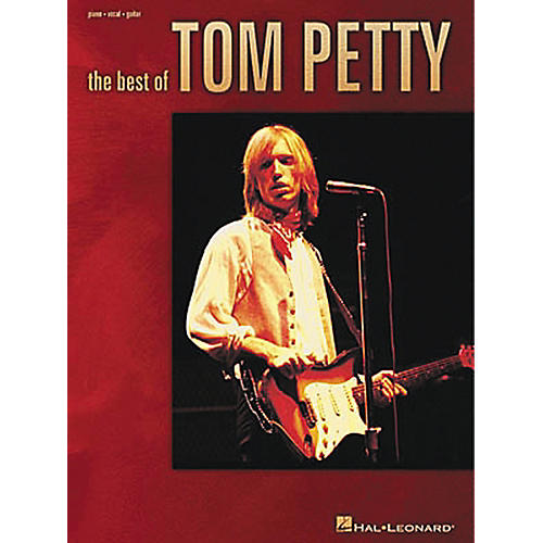 Hal Leonard The Best of Tom Petty Piano, Vocal, Guitar Songbook thumbnail