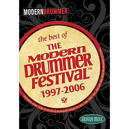 Hudson Music The Best of the Modern Drummer Festival 1997-2006 DVD Set thumbnail
