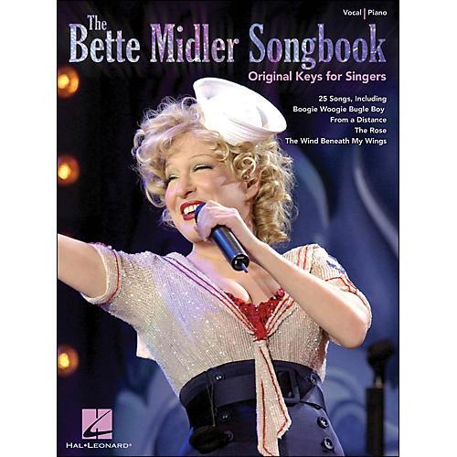Hal Leonard The Bette Midler Songbook Original Keys for Singers thumbnail