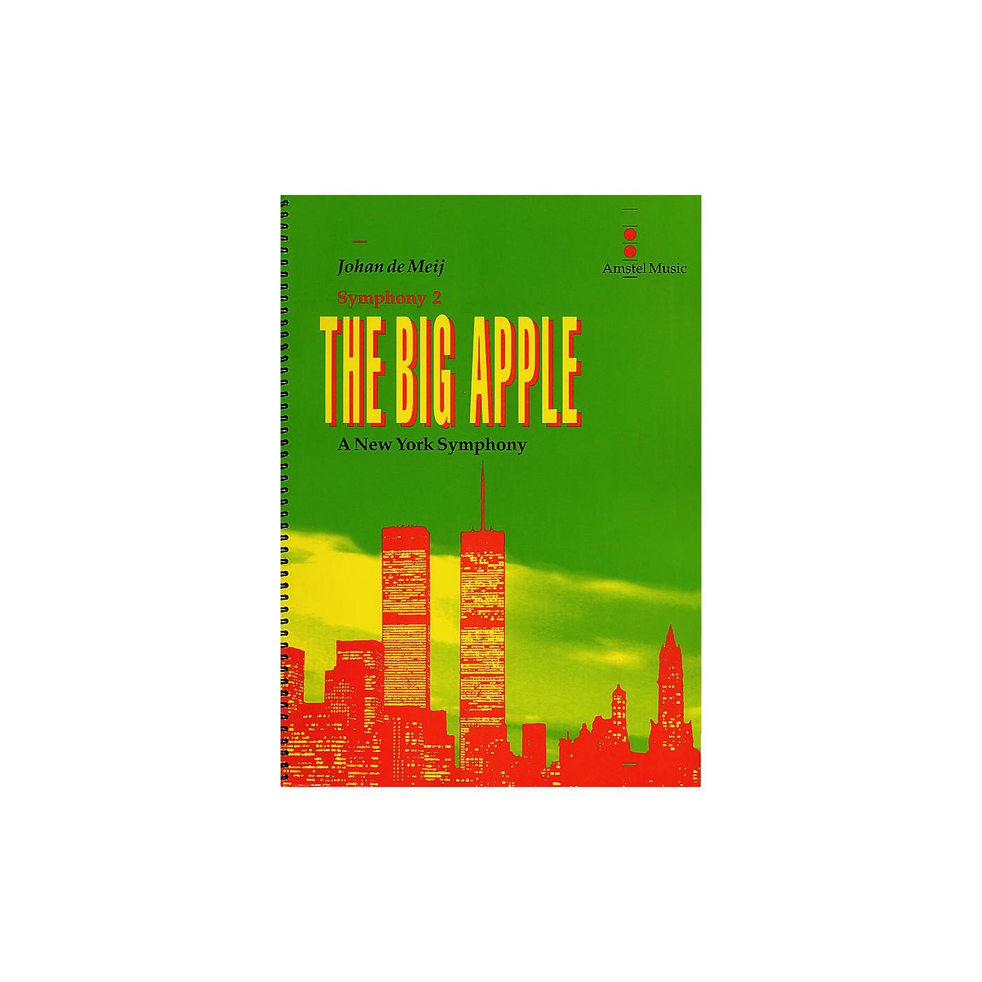 Amstel Music The Big Apple (A New York Symphony)(Symphony No. 2) (Study Score) Concert Band Level 5-6 by Johan de Meij thumbnail