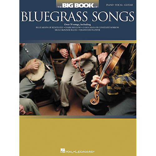 Hal Leonard The Big Book Of Bluegrass Songs Piano/Vocal/Guitar Songbook-thumbnail