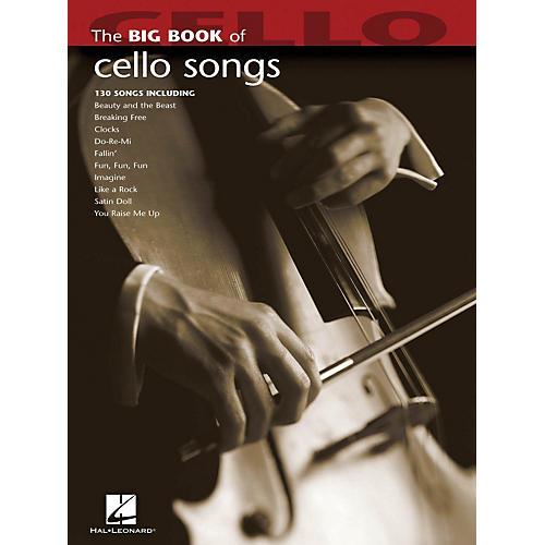 Hal Leonard The Big Book Of Cello Songs thumbnail