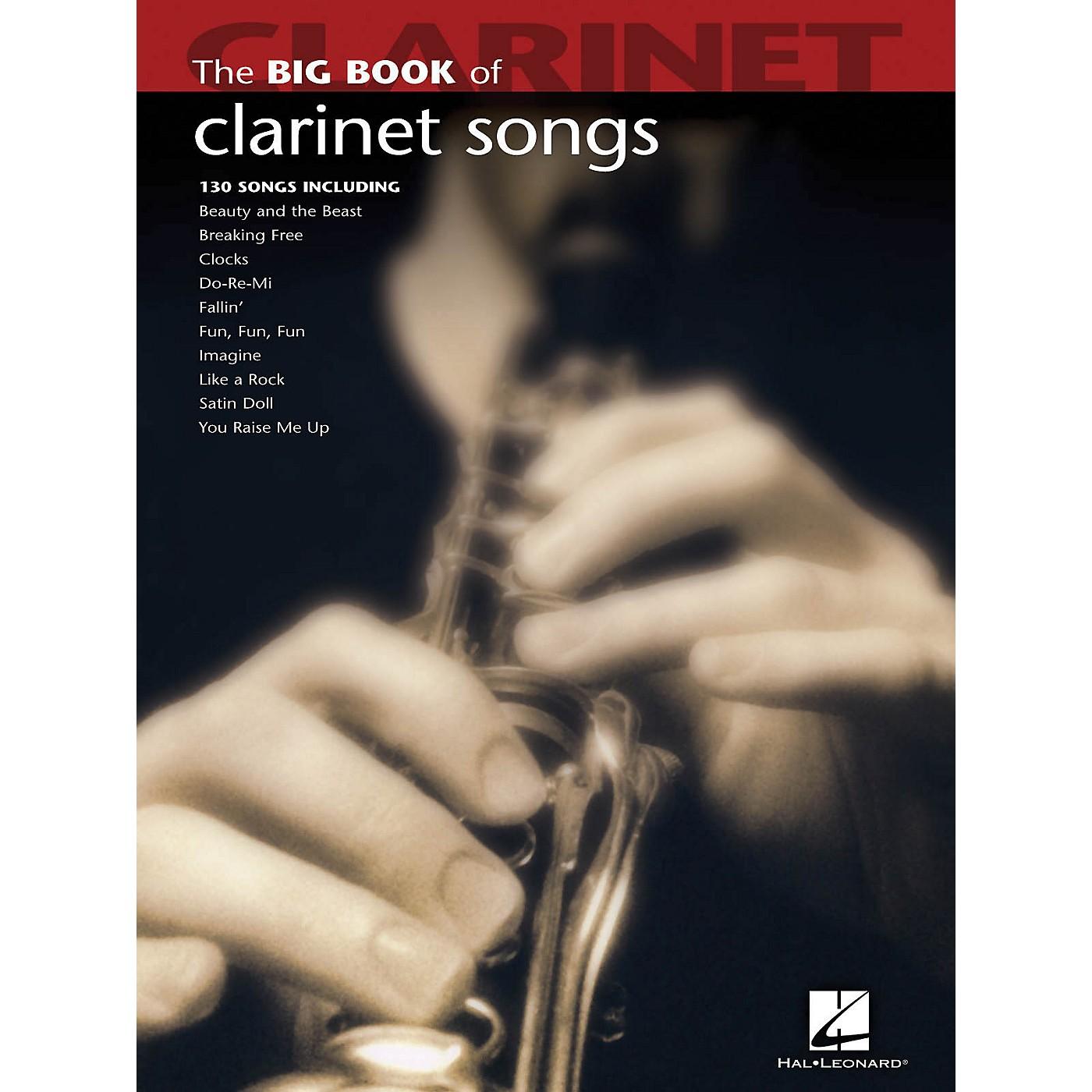 Hal Leonard The Big Book Of Clarinet Songs thumbnail