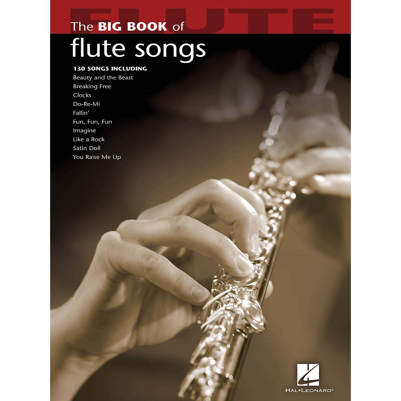 Hal Leonard The Big Book Of Flute Songs thumbnail