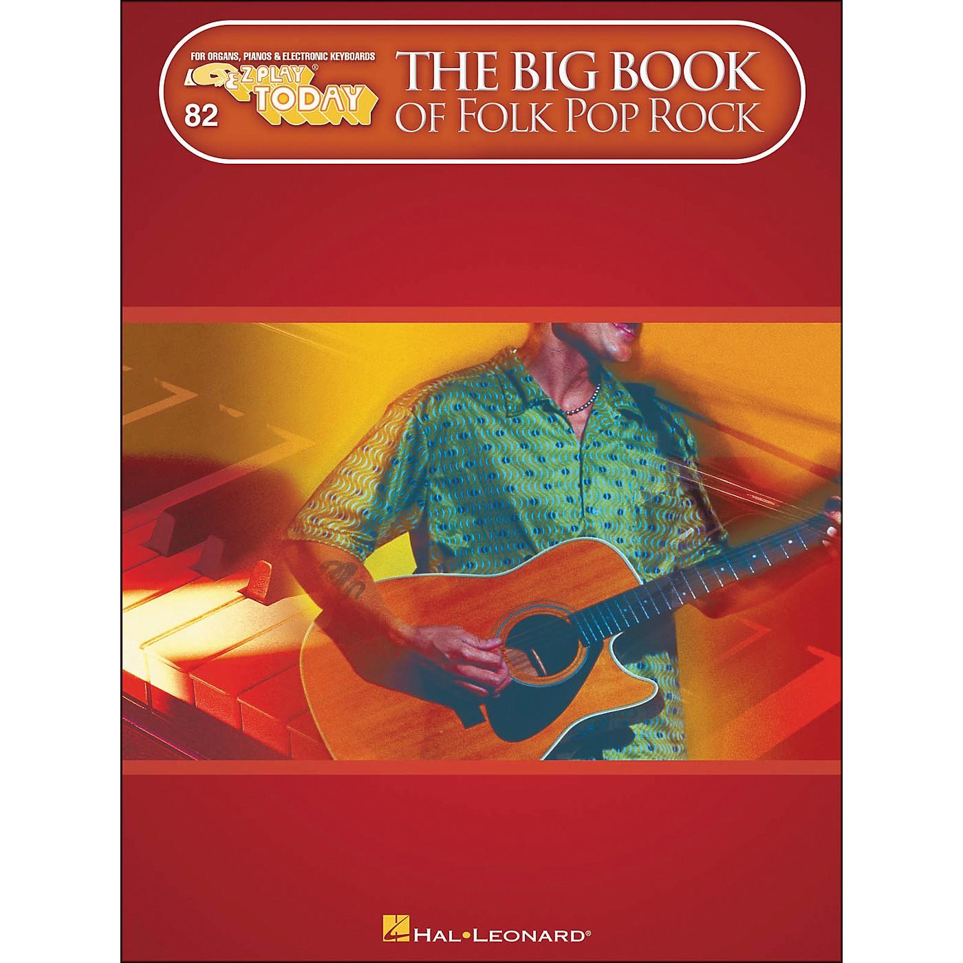 Hal Leonard The Big Book Of Folk Pop Rock E-Z Play 82 thumbnail