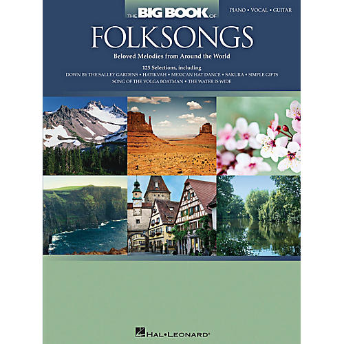 Hal Leonard The Big Book Of Folksongs for Piano/Vocal/Guitar thumbnail