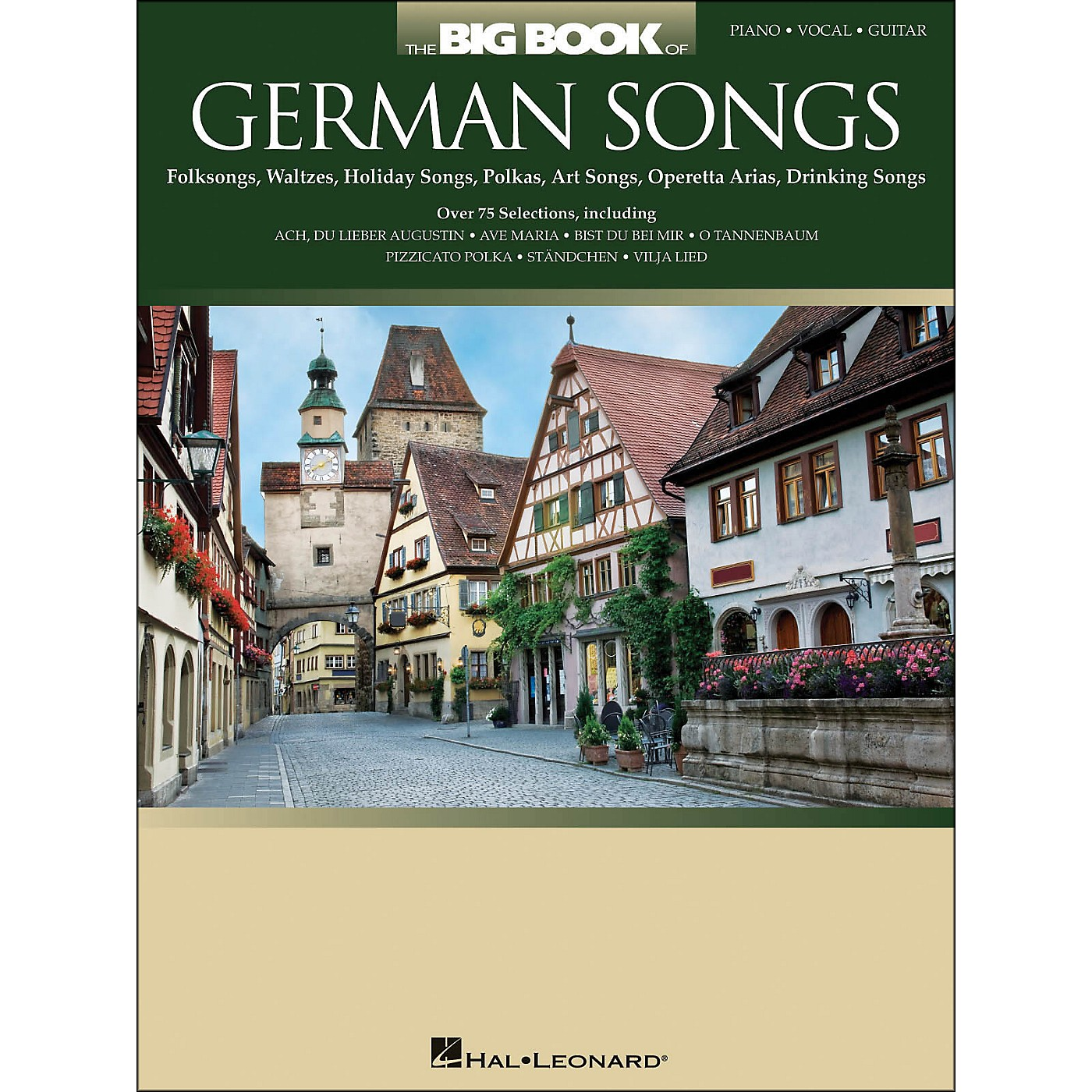 Hal Leonard The Big Book Of German Songs arranged for piano, vocal, and guitar (P/V/G) thumbnail