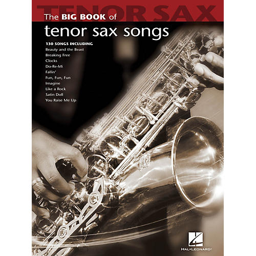 Hal Leonard The Big Book Of Tenor Sax Songs-thumbnail