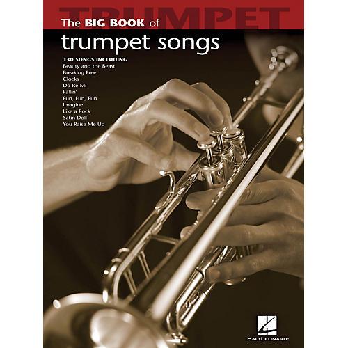 Hal Leonard The Big Book Of Trumpet Songs thumbnail
