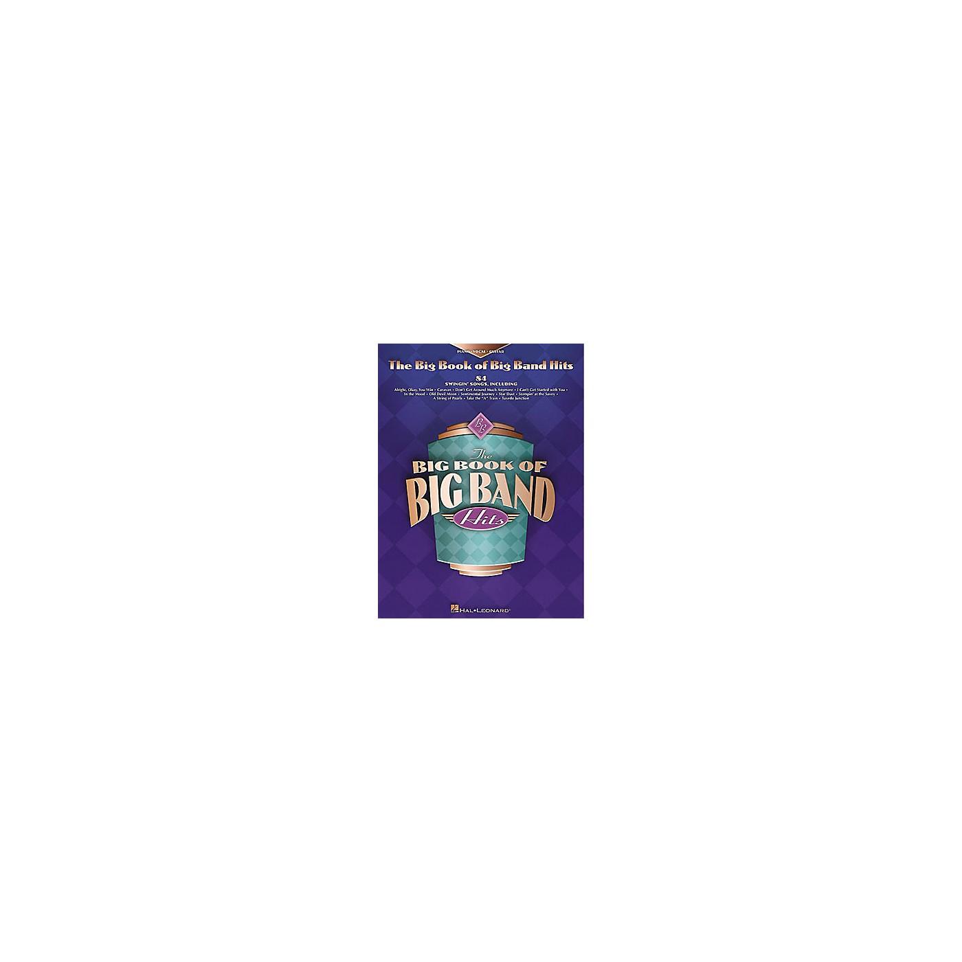 Hal Leonard The Big Book of Big Band Hits Piano, Vocal, Guitar Songbook thumbnail