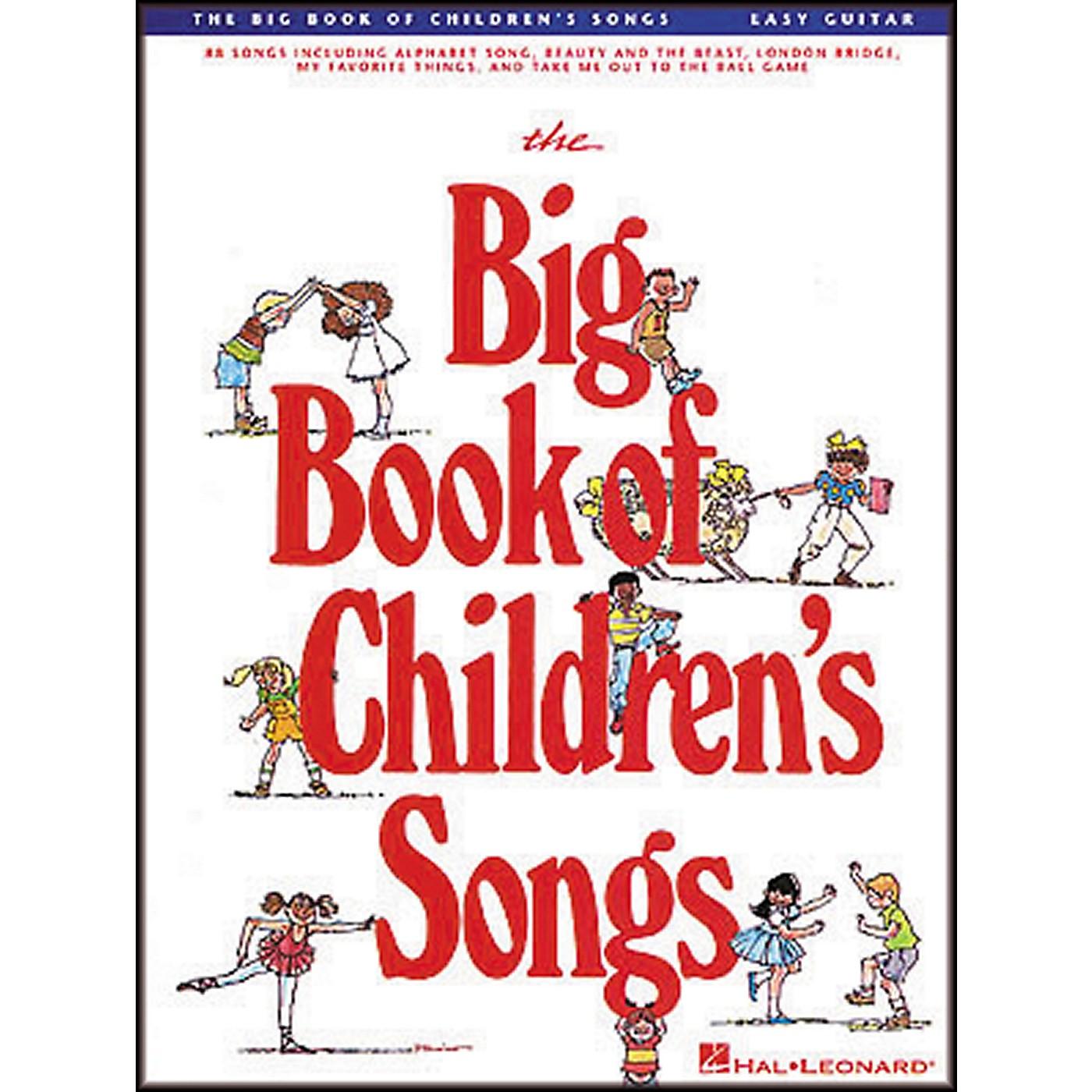 Hal Leonard The Big Book of Children's Songs Easy Guitar Tab Songbook thumbnail