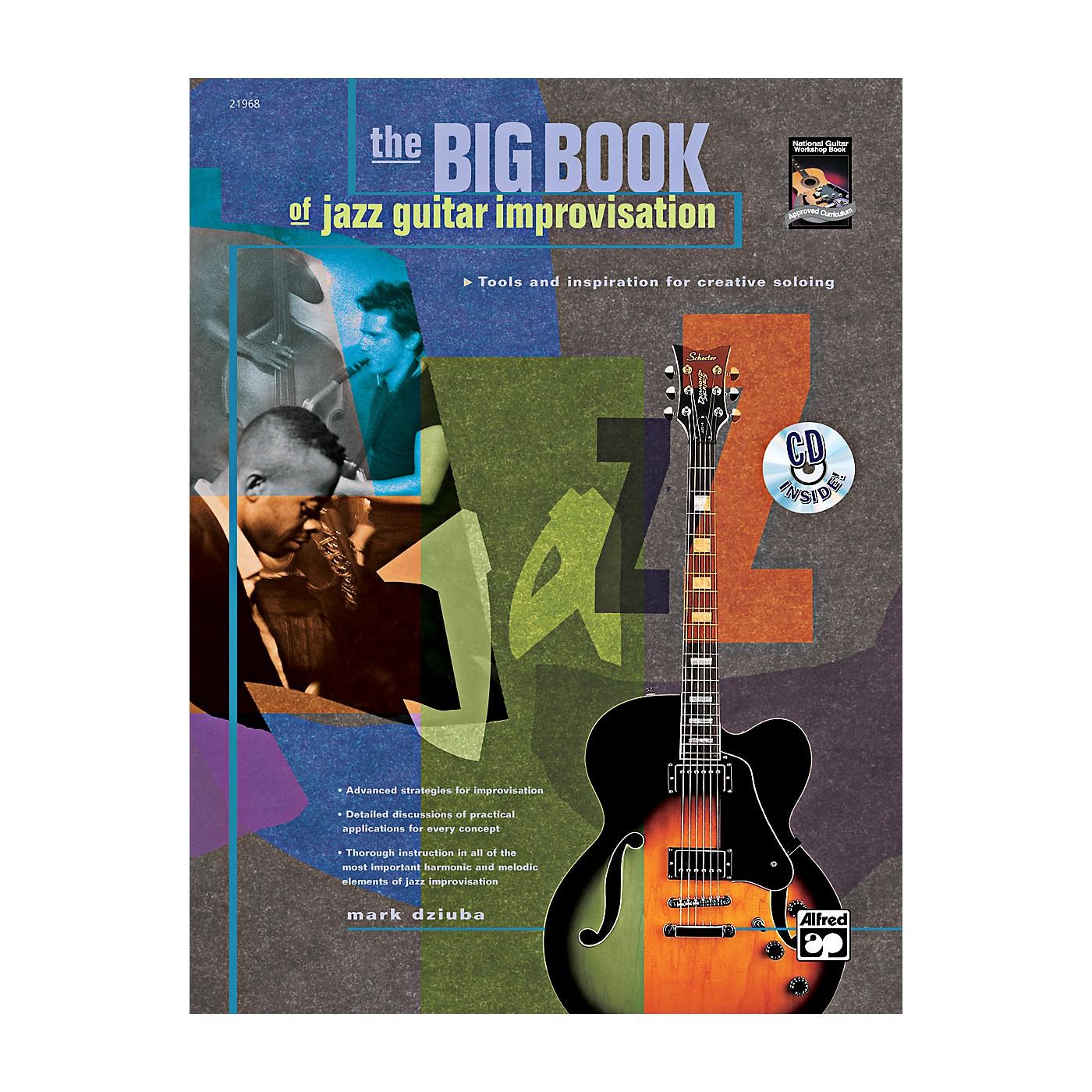 Alfred The Big Book of Jazz Guitar Improvisation Book & CD thumbnail