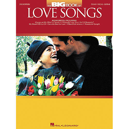 Hal Leonard The Big Book of Love Songs Piano, Vocal, Guitar Songbook thumbnail