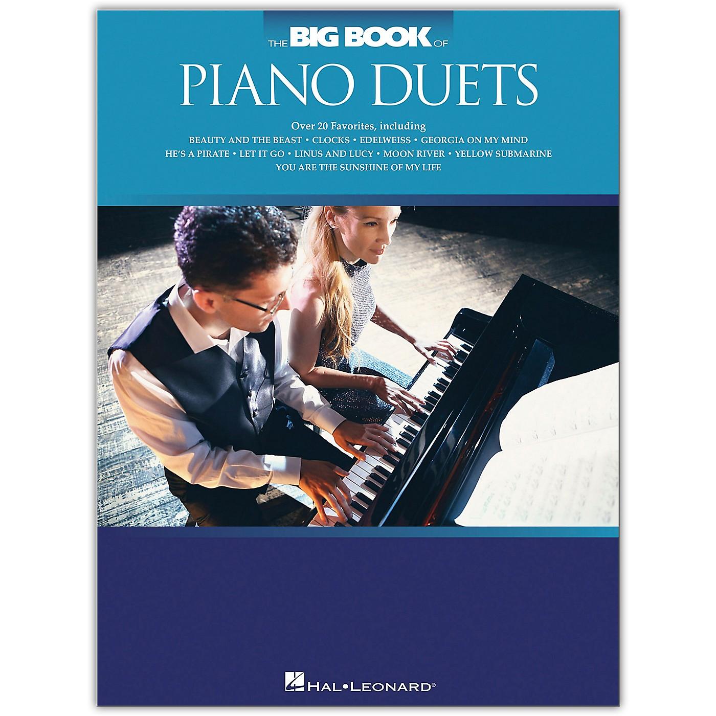 Hal Leonard The Big Book of Piano Duets thumbnail