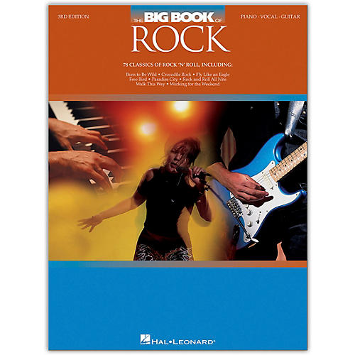 Hal Leonard The Big Book of Rock - 3rd Edition Piano/Vocal/Guitar Songbook Series Softcover Performed by Various thumbnail
