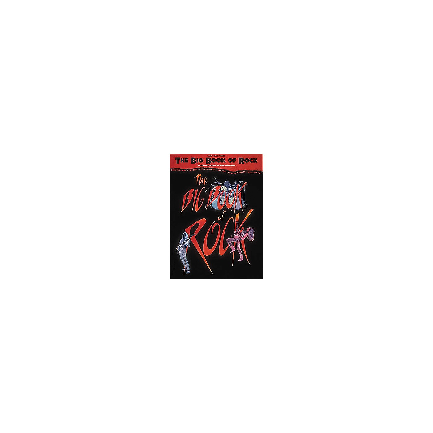 Hal Leonard The Big Book of Rock Piano, Vocal, Guitar Songbook thumbnail