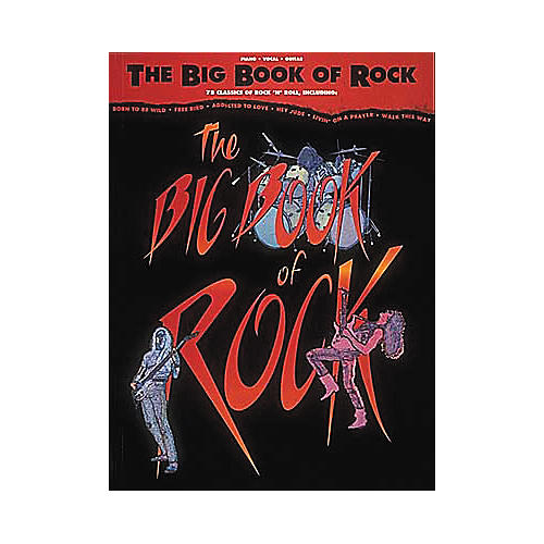 Hal Leonard The Big Book of Rock Piano, Vocal, Guitar Songbook thumbnail