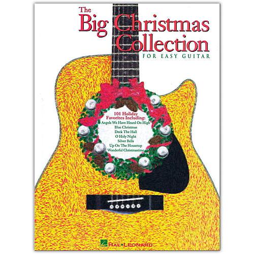 Hal Leonard The Big Christmas Collection Easy Guitar Tab Songbook-thumbnail