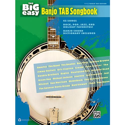 Alfred The Big Easy Banjo TAB Songbook-thumbnail