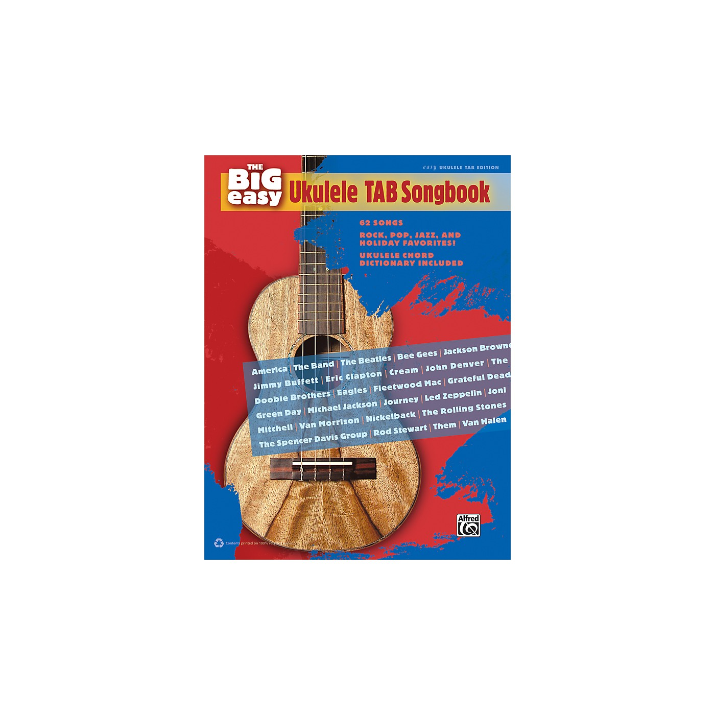 Alfred The Big Easy Ukulele TAB Songbook thumbnail