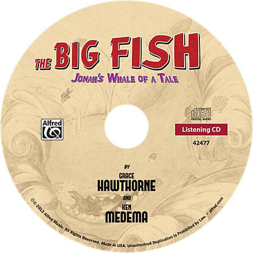 Alfred The Big Fish - Christian Elementary Musical Bulk CD 10-pack thumbnail