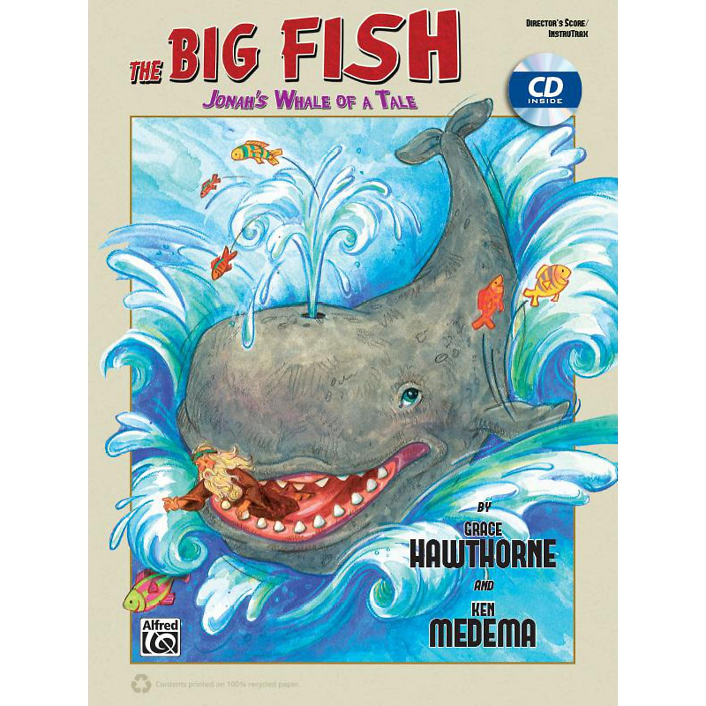 Alfred The Big Fish - Christian Elementary Musical CD Preview Pack thumbnail