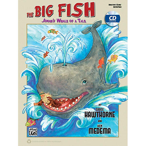 Alfred The Big Fish  - Christian Elementary Musical Director's Kit (Handbook and Enhanced CD) thumbnail