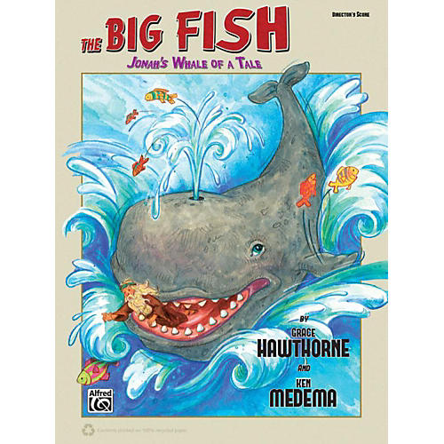 Alfred The Big Fish Christian Elementary Musical Director's Handbook Reproducible thumbnail